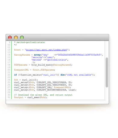 Xovi API